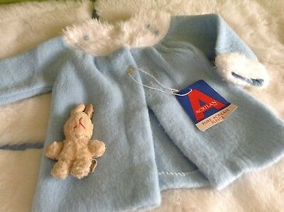 AUTHENTIC VINTAGE INFANT BABY CHILDRENS PRAM COAT 3m  70s UNUSED