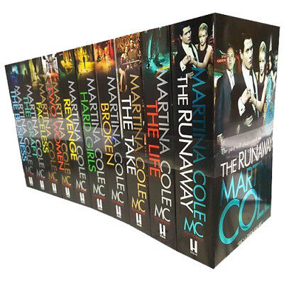 Martina Cole 10 Books Collection Set The Runaway,The Life,The Take,Broken NEW