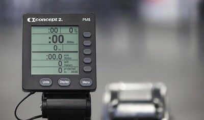 PM5 monitor for Concept 2 model D & E Concept 2 Indoor Rowing Machine.