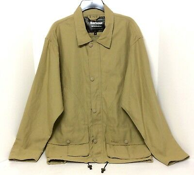 Barbour Breathable Men's Sportsman JTK Medium Zip Front Chore Jacket Coat T120