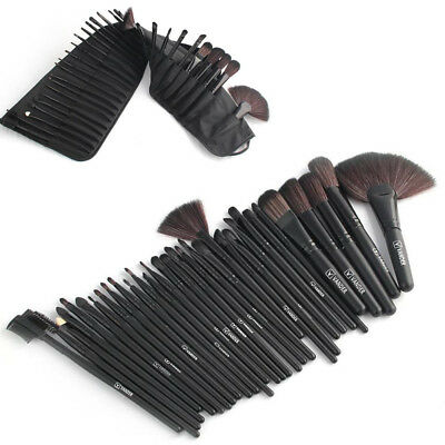 32pcs Kabuki Make up Brush Brushes Set Makeup Foundation Blusher + Makeup Bags