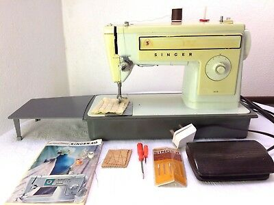 Heavy Duty Singer 509 Electric Sewing Machine sews Leather & Upholstery