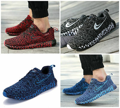 Men's fashion outdoor running shoe casual net surface breathable shoes wholesale