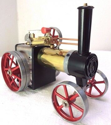 Mamod steam traction engine TE1A with accessories  never used