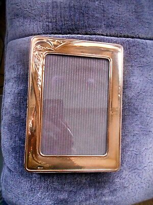 Vintage Italian Sterling Silver - Photo / Picture FRAME 18.3 x 13.1cm Hallmarked