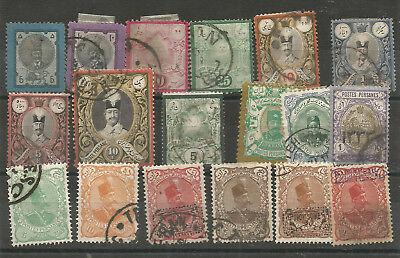 Timbres Anciens Perse