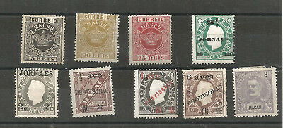 Timbres Anciens Chine Macao