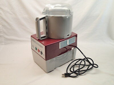 Robot Coupe R2N Food Processor 3qt Gray Bowl S Blade