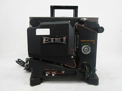 EIKI SL-OML Super Slot Load 2 16mm Film Projector (610)