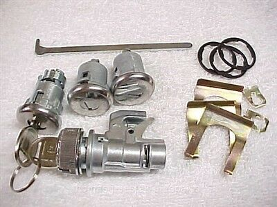 New Door Trunk Ignition Glove Lock & Keys 75 76 Buick LeSabre Coupe Convertible