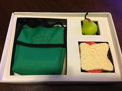 Doll's Delight Accessory, American Girl size, 17-19 inch dolls, Lunchbag w/Lunch