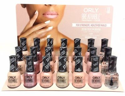 Orly BREATHABLE Treatment + Color Nail Lacquer - NUDES COLOR - Pick Any Color