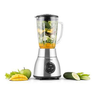(B-WARE) 1200Watt Glas Edelstahl Standmixer Ice Crusher Smoothie Maker Blender S