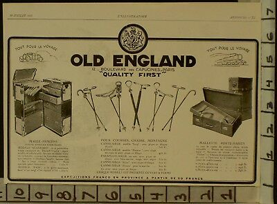 1928 Old England Travel Chest Trunk Cain Armoire Habits French   22896 22896