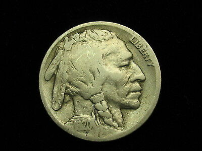 BEAUTIFUL U.S. KEY DATE 1920-D BUFFALO NICKEL IN COLLECTIBLE CONDITION #76z