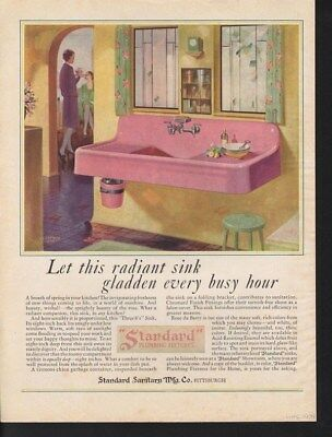 1929 Standard Plumbing Household Appliance Kitchen Sink-14768