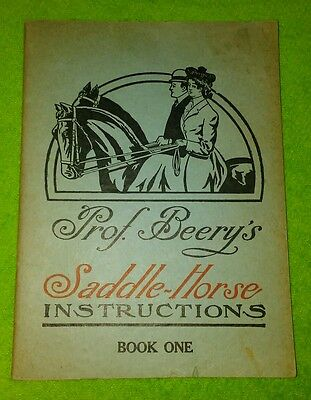 Prof. Beery's Saddle Horse Instructions Book 1