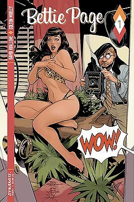 BETTIE PAGE #1, COVER A, New, First print, Dynamite (2017)