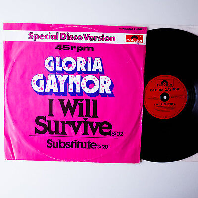 Gloria Gaynor ‎– I Will Survive  , GER`78,  EP,  Vinyl: vg+