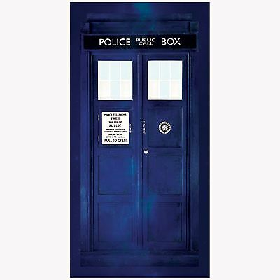 Doctor Who Tardis Large Beach Bath Towel New Dr