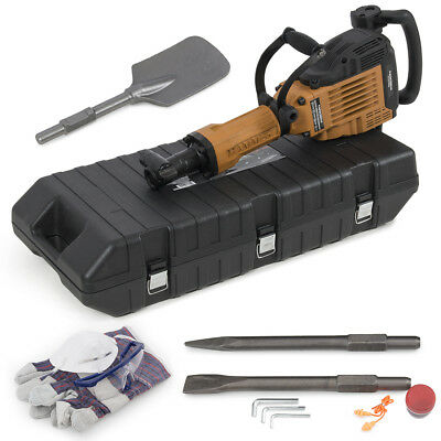 3600Watt Electric Demolition Jack Hammer Construction Concrete Scoop Shovel Kit