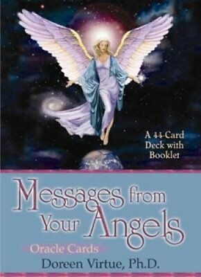 Messages From Your Angels Oracle Cards by Doreen Virtue 9781561709069