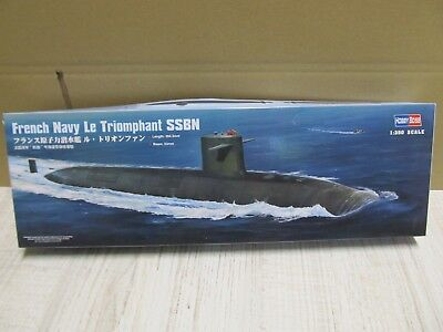 124MB - Hobby Boss 83519 - 1:350 - French Navy Le Triomphant SSBN - neu in OVP