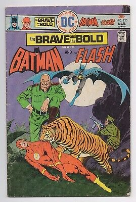 DC Comics The Brave and the Bold Presents Batman and The Flash #125 Bronze Age