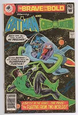 DC Comics The Brave and the Bold Presents Batman and Green Lantern #155 Bronze