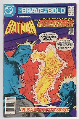 DC Comics The Brave and the Bold Starring Batman and Firestorm #172 Bronze Age