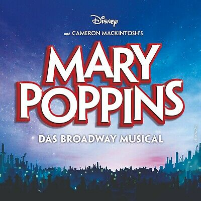 MARY POPPINS Hamburg - 2 MUSICAL TICKETS PK 2 / Gutschein / Karten