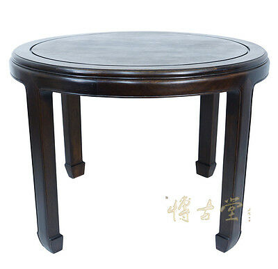 Chinese Antique Rosewood Round Dinning Table 14LP19