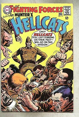 Our Fighting Forces #111-1968 fn/vg  Lt. Hunter's Hellcats