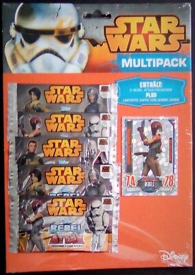 Star Wars Rebel Attax Serie 1 - Multipack ( OVP )