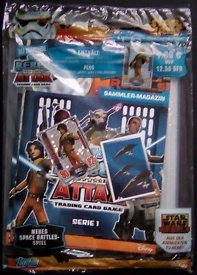 Star Wars Rebel Attax Serie 1 - Starterpack ( OVP )