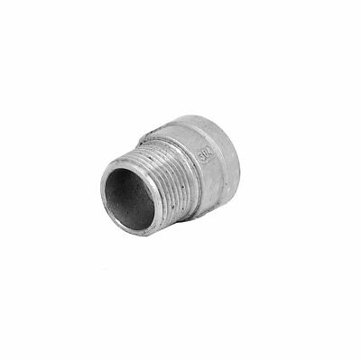 3/4BSP Male to 3/4BSP Female Thread Straight Pipe Fitting Coupler Connector