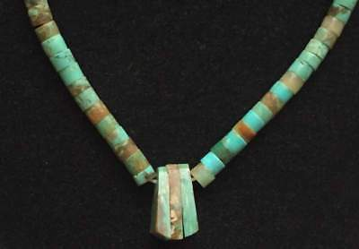 Vintage Necklace Genuine Natural Bead Turquoise Southwestern Jewelry lot m