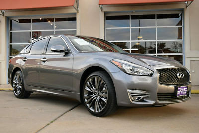 "2016 Infiniti Q70 AWD 2016 INFINITI Q70 AWD, Navigation, Leather, Moonroof, 20"" Alloy Wheels"