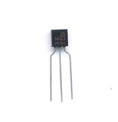 2N6027 Programmable Unijunction Transistor with spaced leads - package of 4 pcs