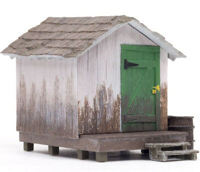 NEW Woodland Scenics BR5858 Wood Shack - O Scale *SHIPS FREE*