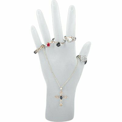 White Hand Chain Ring Display Jewelry Showcase Fixture