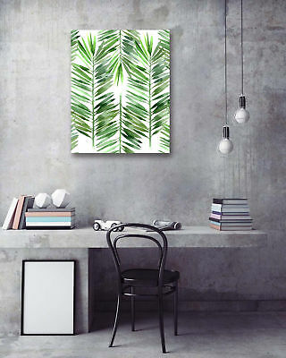 """16x20"""" Wall Art Poster-Tropical leaves Prints Wall Room Decor Canvas Painting"""