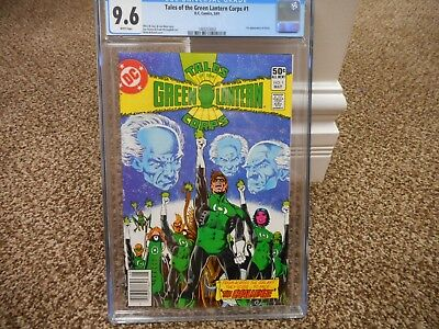 Tales of the Green Lantern Corps 1 cgc 9.6 1st appearance Arisia DC 1981 WHITE p