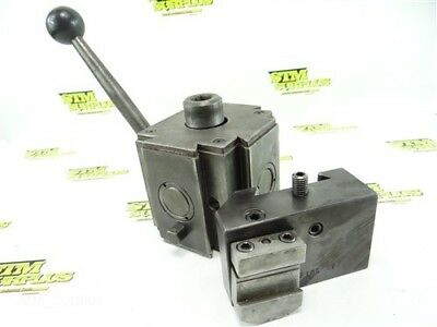 Fims Quick Change 3 Position Tool Post Model 5 + Fims 5E Tool Holder