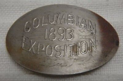 1893 Chicago Illinois IL Columbian Exposition Expo Elongated 1882 Shield Nickel
