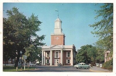 Sussex County Courthouse, Georgetown DE Postcard 112817