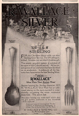 Early Wallace Silver Ad Westinghouse Electric Tungsten Lamp Bulb