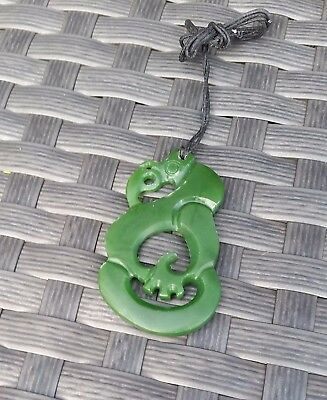 Greenstone Manaia carving New Zealand Buy now don't miss out on this great gift