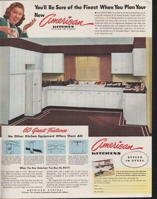 1947 American Kitchen Sink Appliance Connersville Room-14812