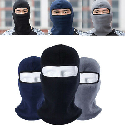 Full Face Hat Wool Polar Fleece Winter  Balaclava Face Mask Ski Snowboard Scarf